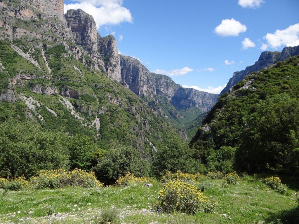 Vakos-Kloof in Pindosgebergte
