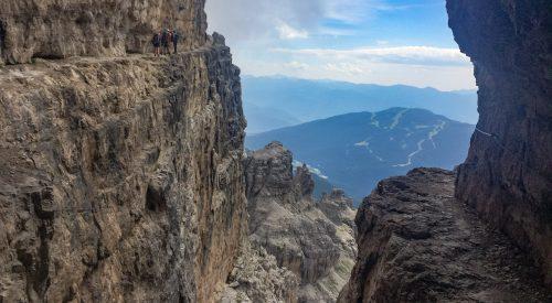 Via ferrata in de Brenta Dolomieten: Via delle Bochette