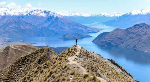 Roys Peak: niet te missen dagwandeling bij Wanaka