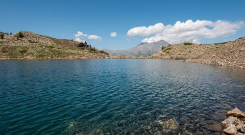 Korte wandeling op La Meije naar Lac du Puy Vachier