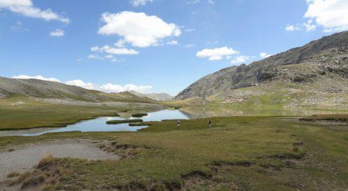Dagwandeling naar de Lacs de Lignin