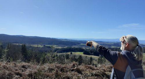 Wandeling Les Panoramas vanuit Échandelys