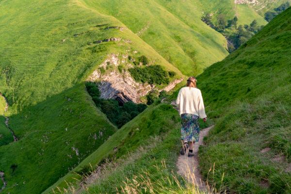 Korte wandeling naar bijzondere grot in Baskenland